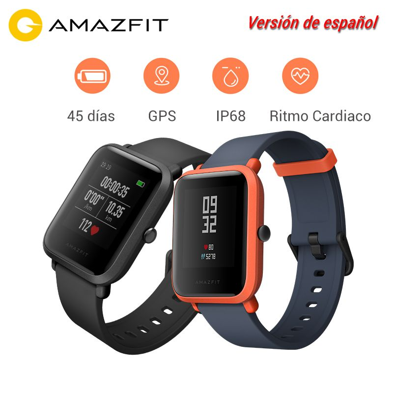 2018 Hot Sale Xiaomi Huami Amazfit Bip Youth Smart Watch Android activity smart-watch Bluetooth 4.0 GPS Heart Rate 45 Days