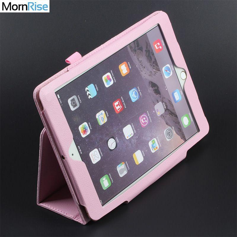Pliant Folio Smart Cover Pour iPad air 2 1 Cas Pour iPad 6th Génération Cas Magnétique PU Cuir pour Tablette coque de protection