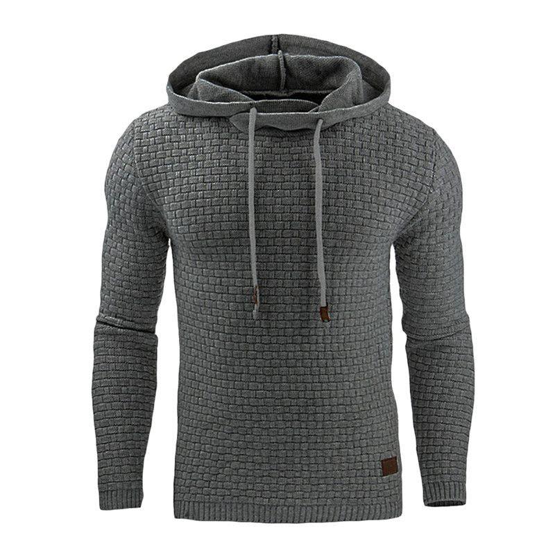 Men's Long Sleeved hoodie Running Coat Streetwear Fitness Sweatshirt Workout Tracksuit Training Autumn Winter Clothing
