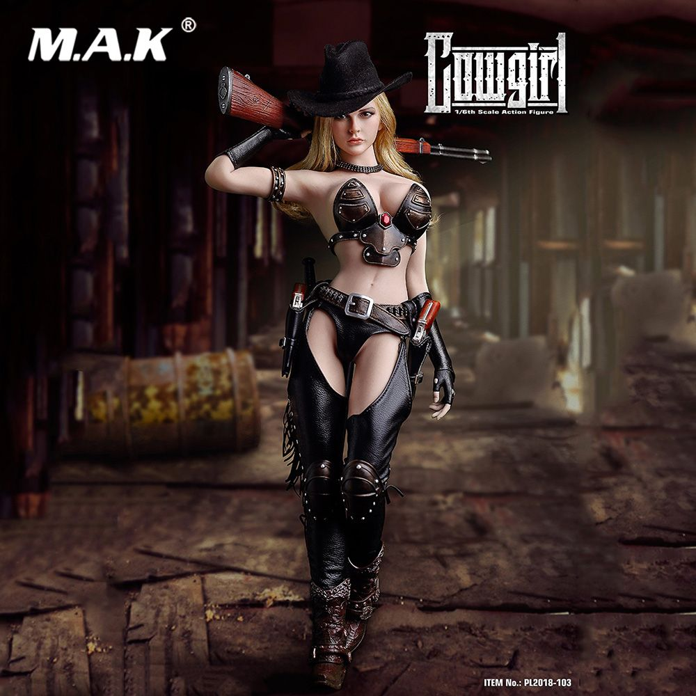 Coollectible Full Set Action Figure TBLeague PL2018-103 1/6 Western Cowgirl 12 inch Action Figures Doll for Gift