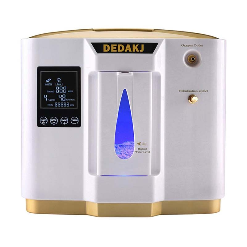 DEDAKJ DDT-1L Portable Oxygen Concentrator Generators Machine Household Home Adjustable Air Purifier High Purity AC110V/220V