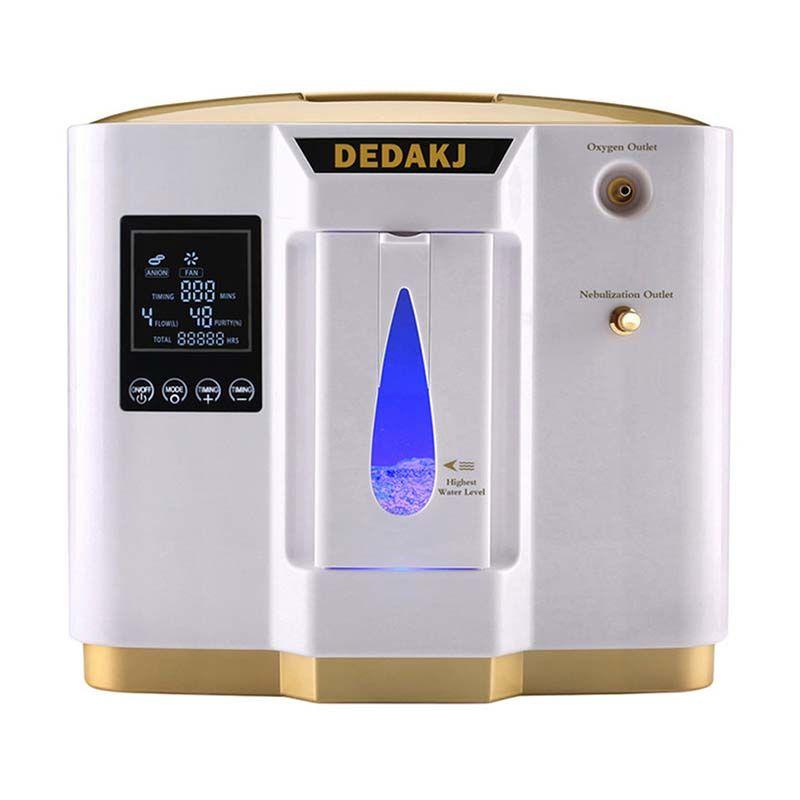 DEDAKJ DDT-1L Tragbare Sauerstoff Konzentrator Generatoren Maschine Haushalt Home Einstellbare Luftreiniger Hohe Reinheit AC110V/220 V