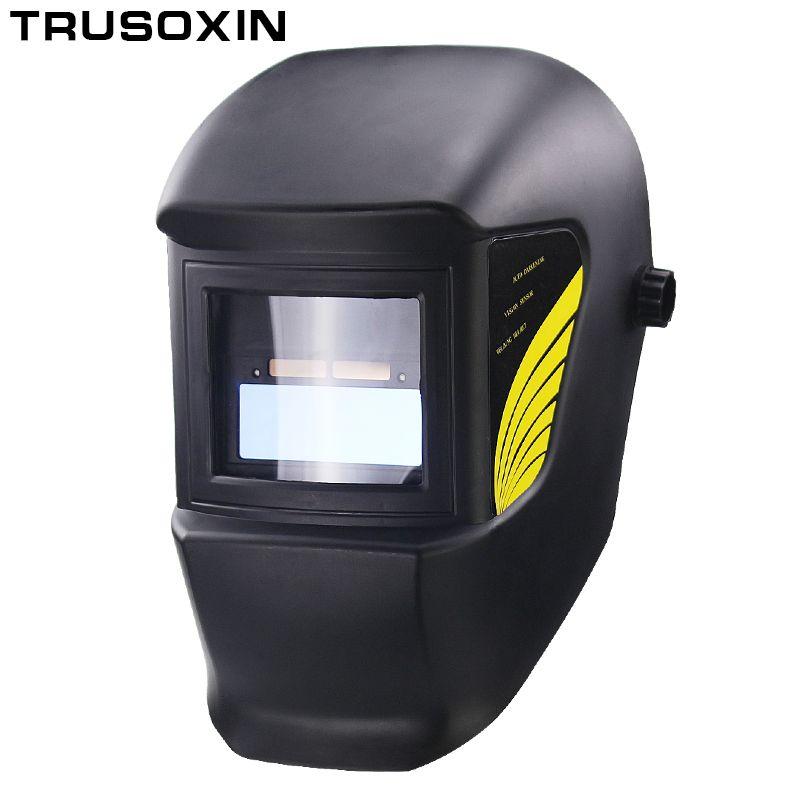 Welding Parts Cool Solar Auto Darkening Welding Helmets Welding Mask/Eyes Goggles for MMA MIG TIG MAG Welding Machine/<font><b>Equipment</b></font>