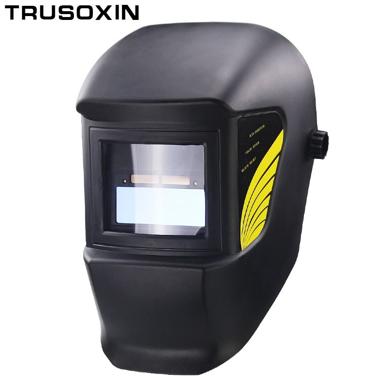 Welding Parts <font><b>Cool</b></font> Solar Auto Darkening Welding Helmets Welding Mask/Eyes Goggles for MMA MIG TIG MAG Welding Machine/Equipment