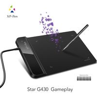 The XP-Pen G430S 4 x 3 inch Ultrathin Graphic Drawing Tablet for Game OSU and Battery-free stylus- designed! Gameplay.
