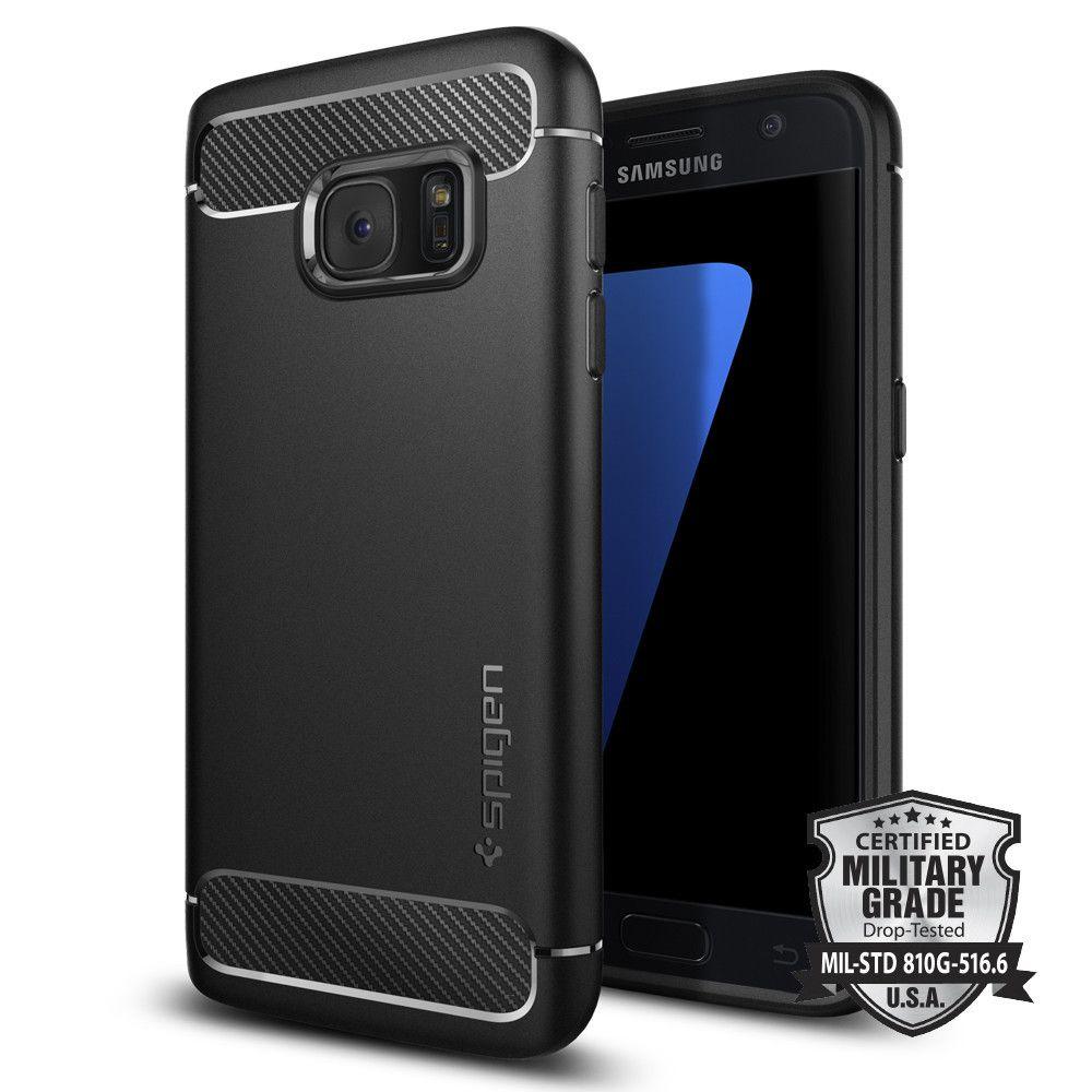 100% Original SPIGEN <font><b>Rugged</b></font> Armor Case for Samsung Galaxy S7 (5.1)