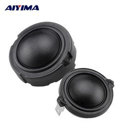 AIYIMA 2Pcs 1.5inch Audio Speakers 4Ohm 80W 25Core Fiber Membrane Rubidium Magnetic Speaker HiFi Enthusiasts Treble Tweeter Head