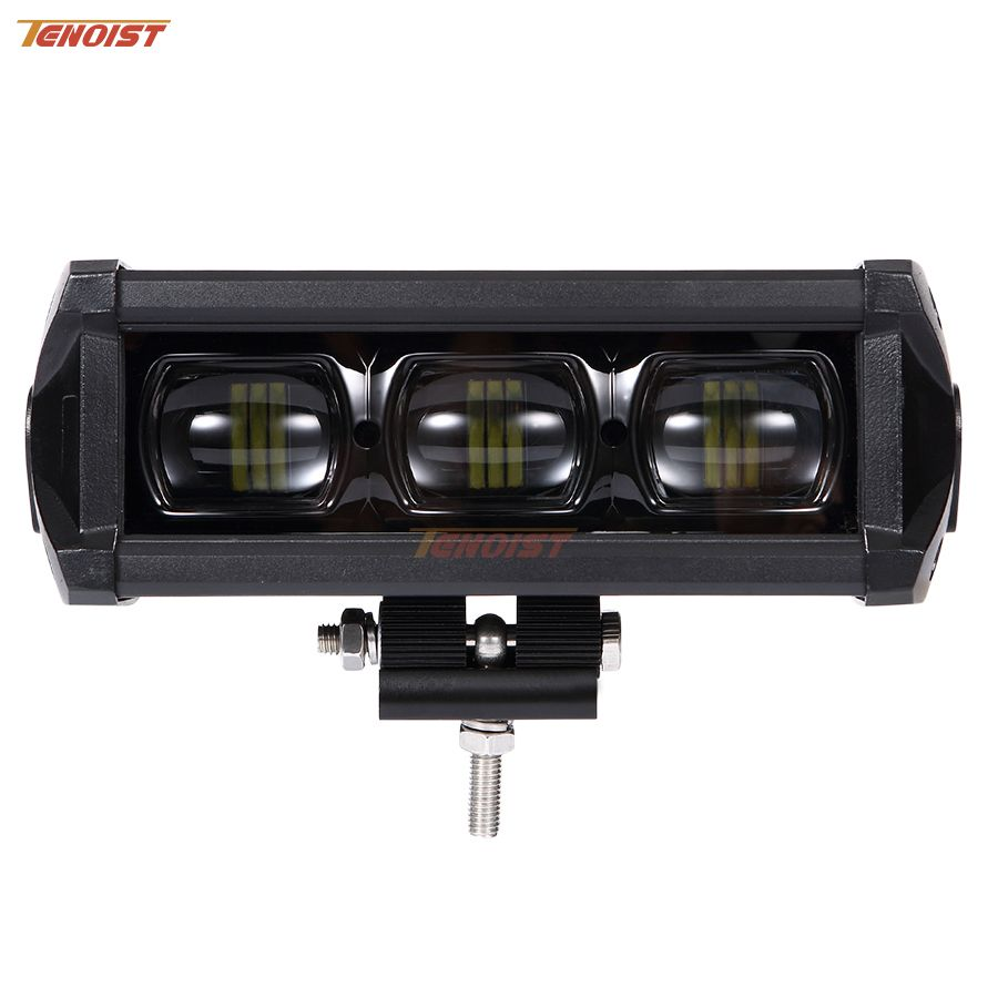 Newest 6D Lens 30W 60W 90W 120W 150W 180W 210W 240W Grille Single Row Front Bumper Light Bar For Offroad 4*4 Truck ATV 12V 24V