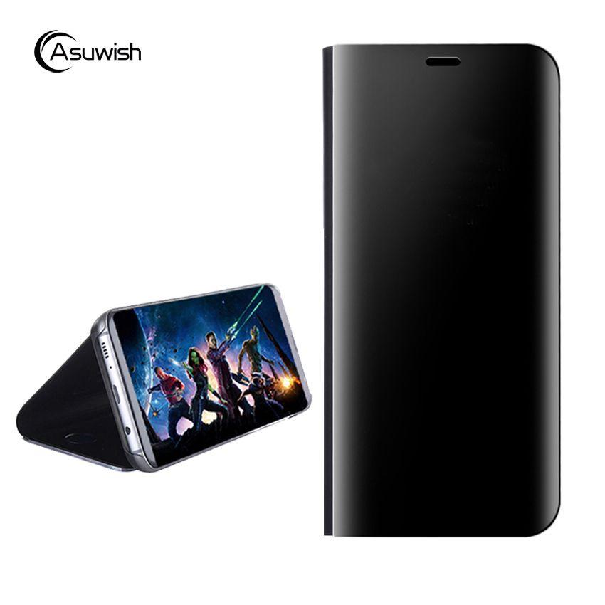 Flip-Cover Leder Telefon Fall Für Samsung Galaxy S8 Plus SM G950 G9500 G950F G955F Galaxys8 S8plus S 8 8 plus GS8 8 s SM-G950F