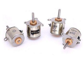2 PCS/lot 2 Phase 4 Fils Moteur pas à pas 10mm Micro Moteur pas à pas JSDJ2P4W10M