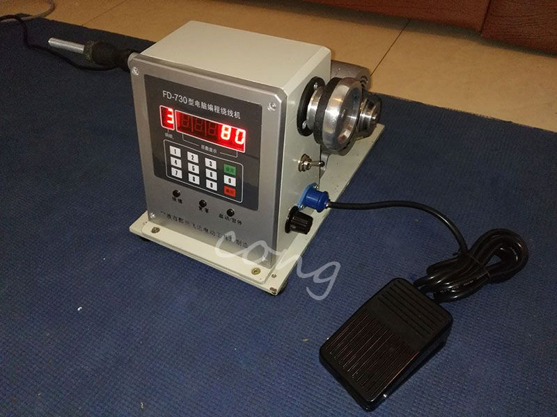 Computer controlled coil transformer winder winding machine 0.03-1.8mm