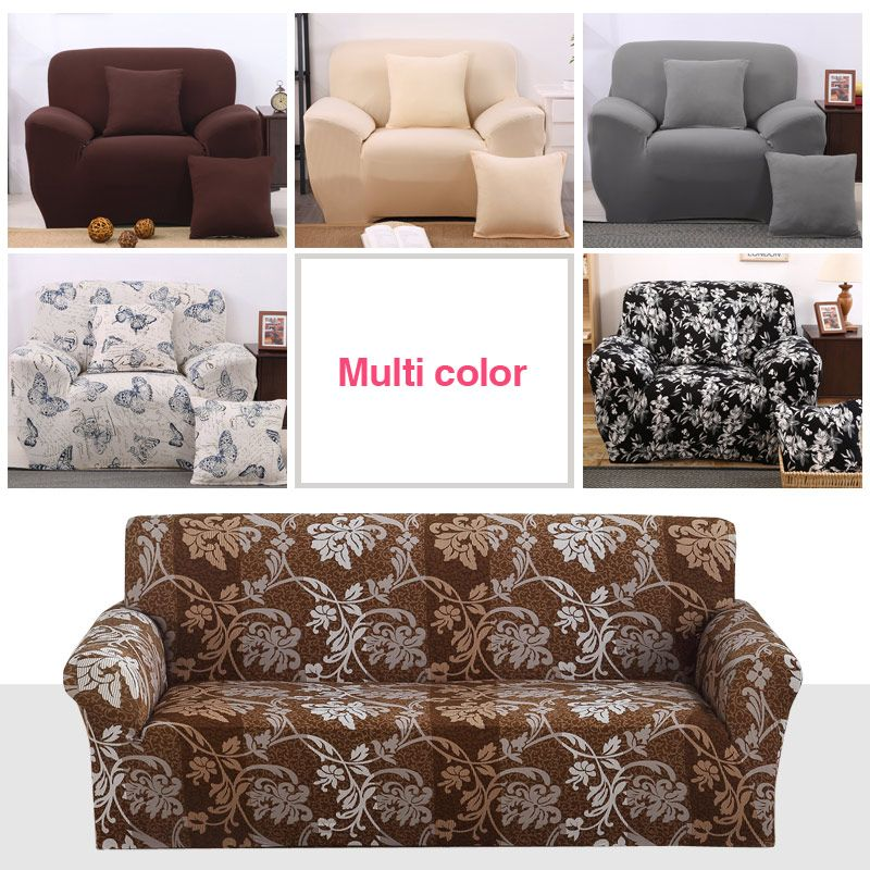 Modern Sofa Cover All-inclusive Slip-resistant Cheap Sofa Towel Elastic Corner Sofa Sectional Covers Spandex Sofa Slipcover 1PC