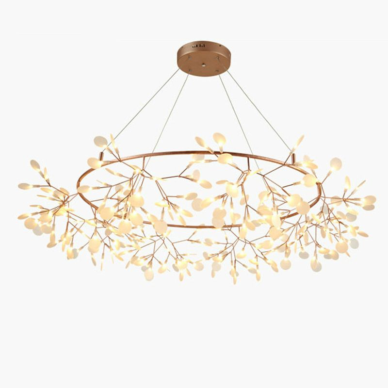 Creative Art Designer Chandelier Lights Tree Leaf Vintage LED Lamps Fixtures By Bertjan Pot Suspension Lamp Home Lighting