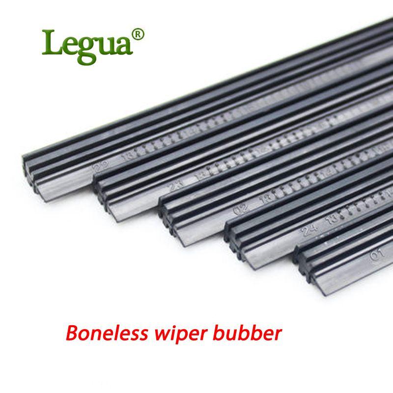 Legua 1 pcs High Quality Boneless Rubber Car Wiper Blade refill Strips Windscreen 14