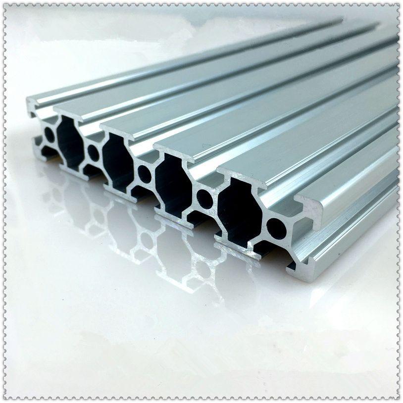 20100 aluminum extrusion profile european standard white length 1500mm industrial aluminum profile workbench 1pcs
