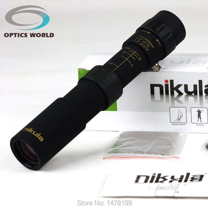 Nikula10-30x25 монокуляр объектив телескопа бинокль высокого качества монокуляры ночного видения HD Карманный