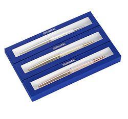 2018 swarovski Pen with gift box case stardust pen Crystalline diamond Ballpoint Pen brand new crystal pen wedding gift