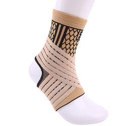 Hohe elastische bandage kompression strick sport beschützer basketball fußball knöchel unterstützung klammer schutz freies verschiffen # ST3779