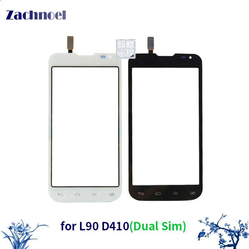 4.7 Écran tactile pour LG L90 Dual Sim D410 Digitizer Avant Lentille En Verre Capteur Panneau Écran Tactile Haute Qualité Pièces De Rechange