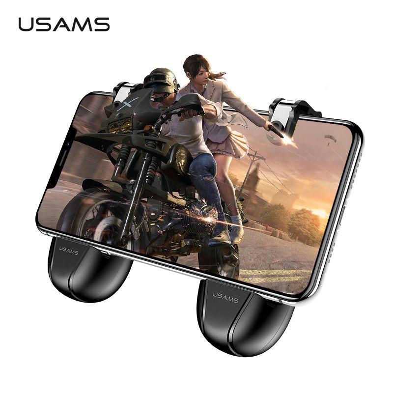 Manette de jeu séparée sans fil USAMS pour iPhone Android contrôleur de jeu Mobile poignée de jeu L1R1 tireur PUBG bouton de tir