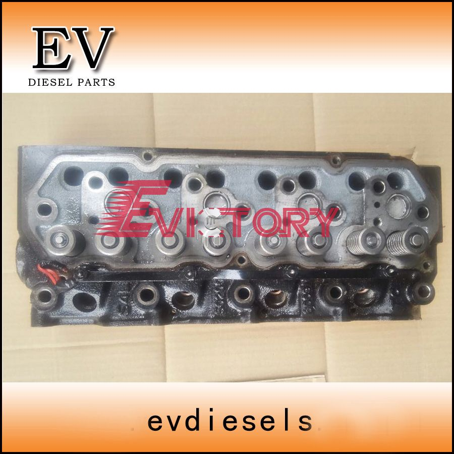 New arrival For Mitsubishi engine S4L S4L2 cylinder head assy for Kobelco Excavator