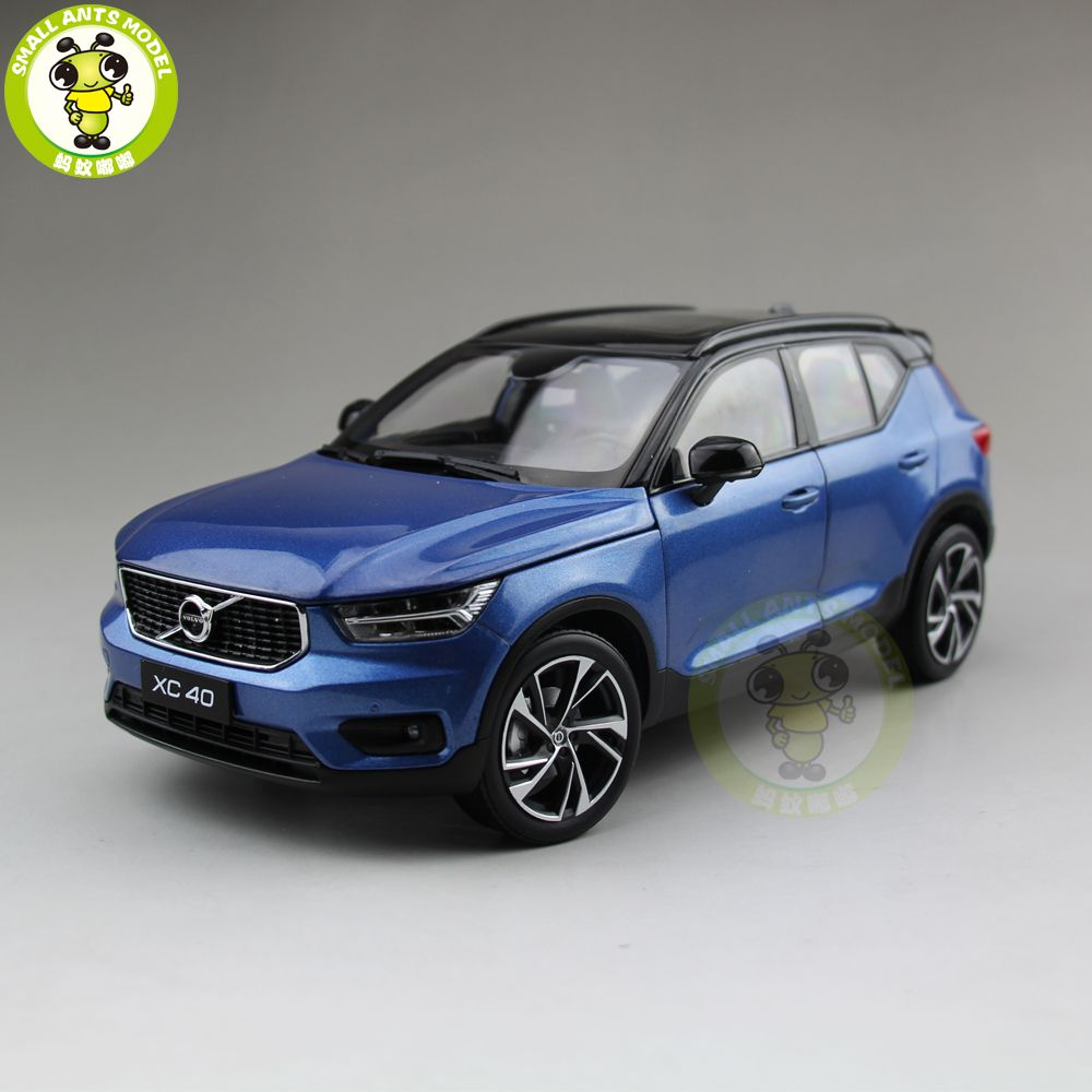 1/18 NEW Volvo XC40 SUV Diecast Metal Car SUV Model Boy Girl Gift Hobby Collection Blue Color