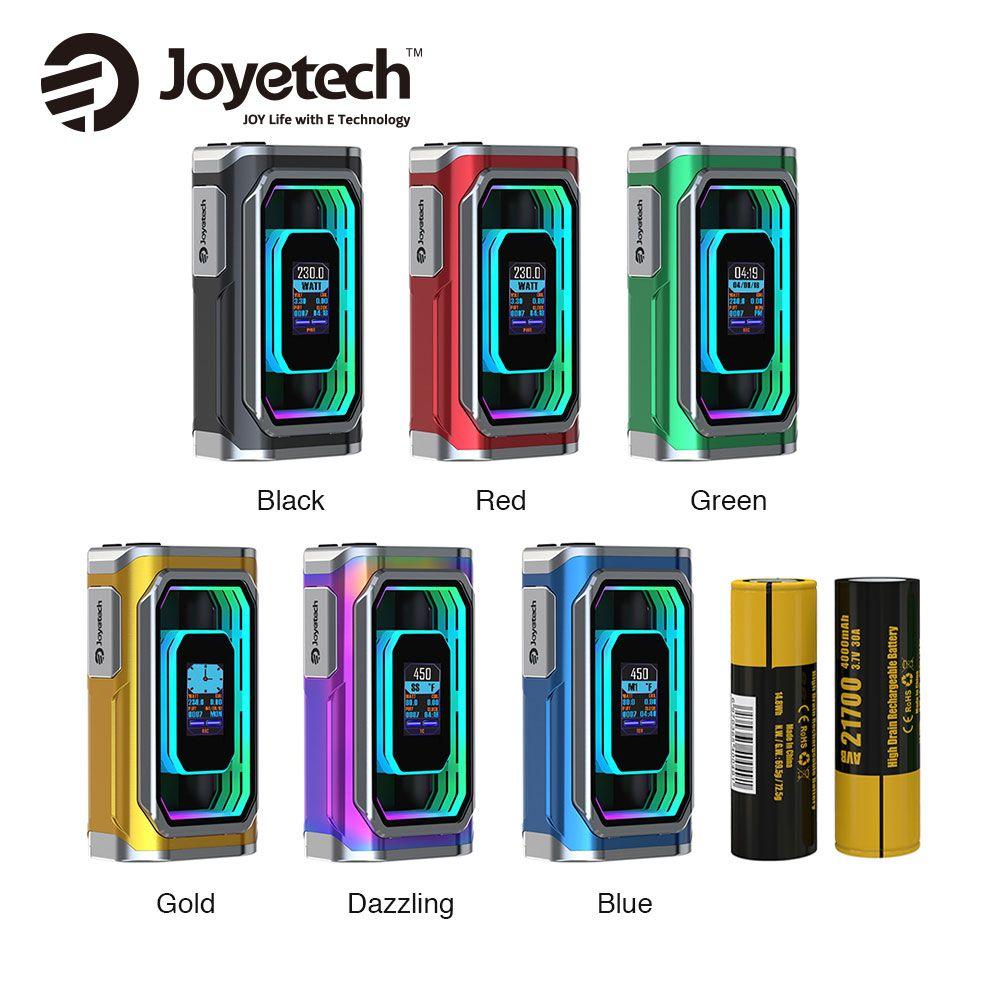 8000mAh Original Joyetech ESPION Infinite 21700 230W TC Box MOD with 0.96-inch TFT Color Display for ProCore Conquer Atomizer