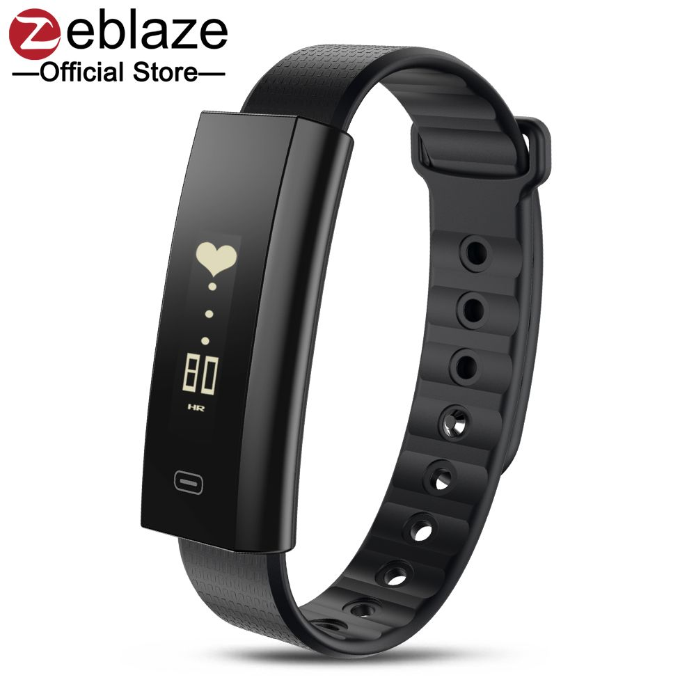 Zeblaze Arch Blood Pressure/Blood Oxygen Smart Wristband Heart Rate Monitor Weekly Health Report Fitness Bracelet IP67 Smartband