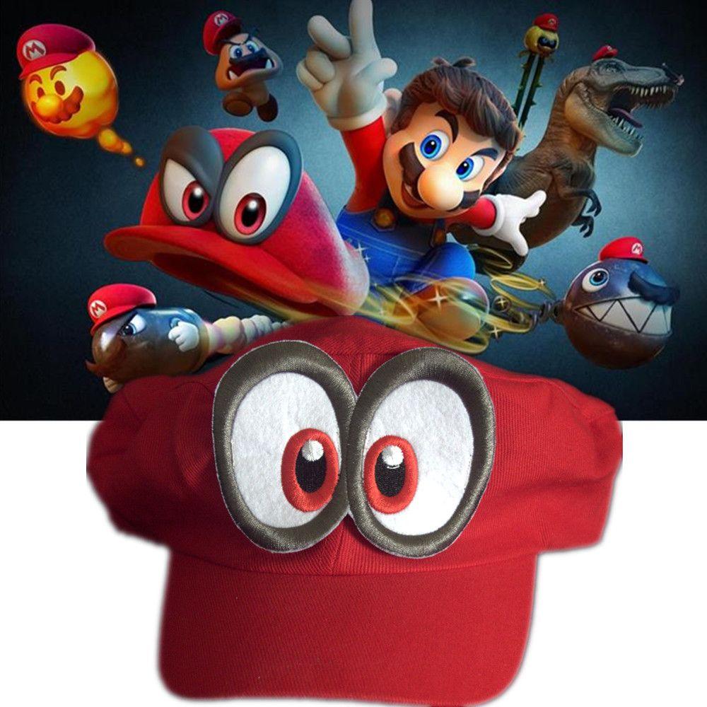 Juego Super Mario Odyssey adulto niños anime Cosplay hecho a mano
