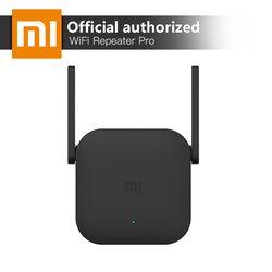 Xiao mi Amplificador WiFi Pro 300 Mbps Amplificador repetidor Wi-Fi tapa señal Wifi Extender repetidor 2,4g mi inalámbrico negro router