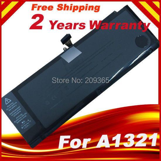 A1321 <font><b>Laptop</b></font> Battery For Apple Macbook Pro 15 A1286 2009 2010 Version 020-6380-A