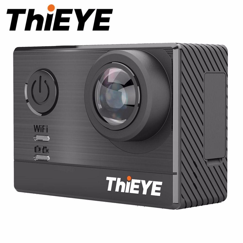ThiEYE T5e 4 Karat WIFI Action Kamera Ultra HD Mit 2 zoll Lcd-bildschirm 60 Mt Wasserdicht Stoßfest 170 grad Super-Weiten Blick kamera
