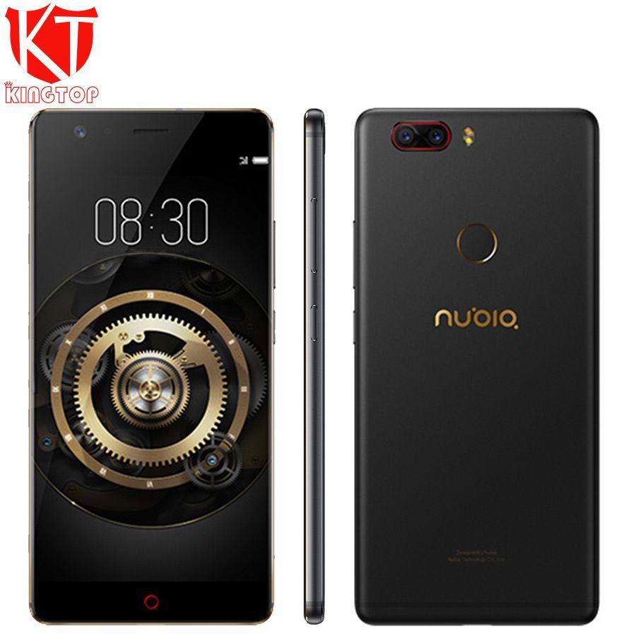 Original ZTE Nubia Z17 Lite 5.5 inch Bezel-Less Snapdragon 653 Octa Core 6GB 64GB 4G LTE Dual 13MP Rear Camera NFC Mobile Phone