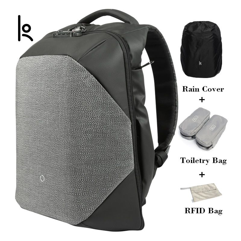 K Neue Männer Rucksack Für 15,6 zoll Laptop Rucksack Große Kapazität Stundet Rucksack Casual Stil Tasche Wasser Abweisend