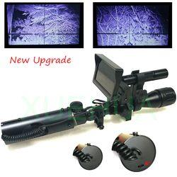 Hot Jual Upgrade Outdoor Berburu Optik Pandangan Taktis Digital Infrared Malam Visi Riflescope Menggunakan Di Siang dan Malam