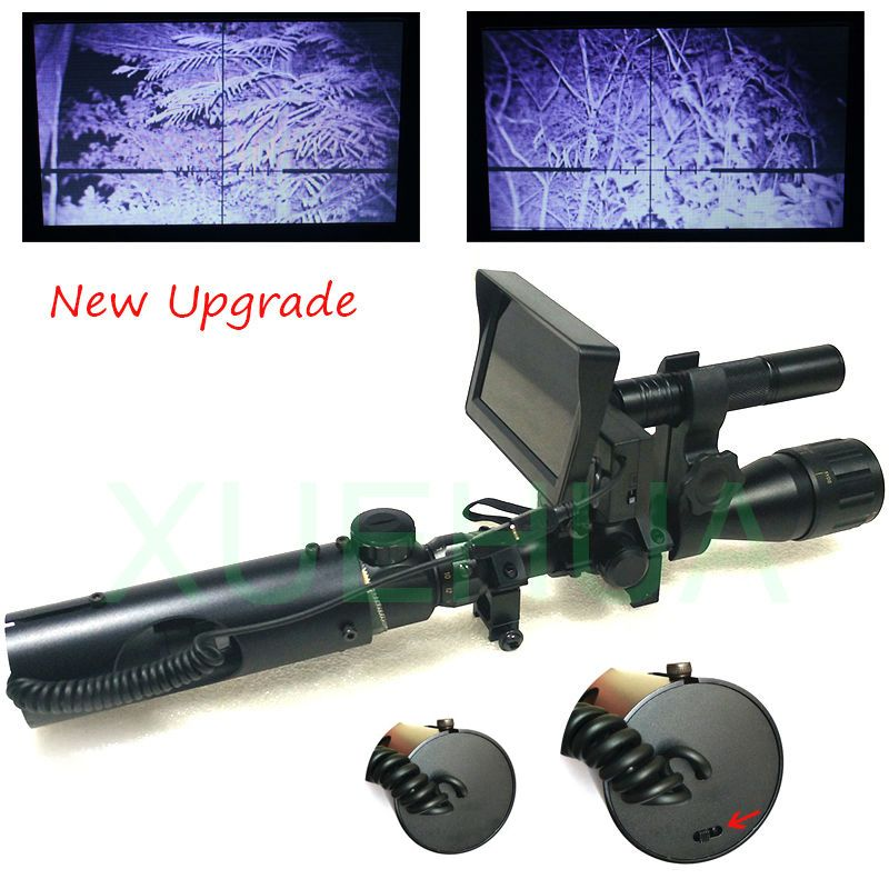 Hot Selling Upgrade Outdoor Hunting Optics Sight Tactical digital Infrared <font><b>night</b></font> vision riflescope use in day and <font><b>night</b></font>