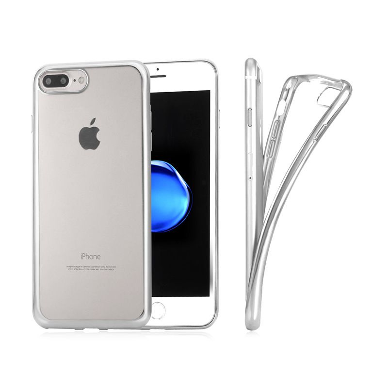 Phone Case for iPhone 7/7Plus Scratch/Dust/Shock Resistant Transparent TPU Material Phone Cover Cases PC128