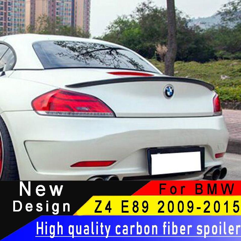 Für BMW Z4 E89 18i 20i 23i 28i 30i 35i 2009-2015 Carbon Fiber Hinten Flügel Hohe Qualität Carbon faser Spoiler