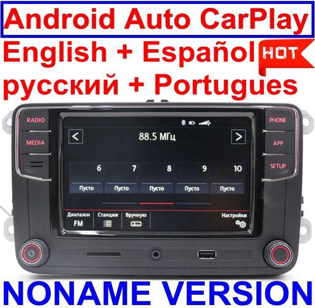 Android Auto CarPlay MirrorLink Noname RCD330 Plus R340G 6.5MIB Radio For Golf 5 6 Jetta CC Tiguan Passat Polo Toureg 6RD035187B