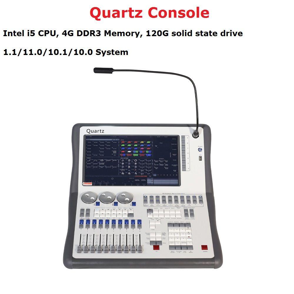2019 neueste Titan 11,1 System Quarz Konsole DMX512 Bühne Beleuchtung Controller Für Bühne Disco Party Beleuchtung DJ Ausrüstungen