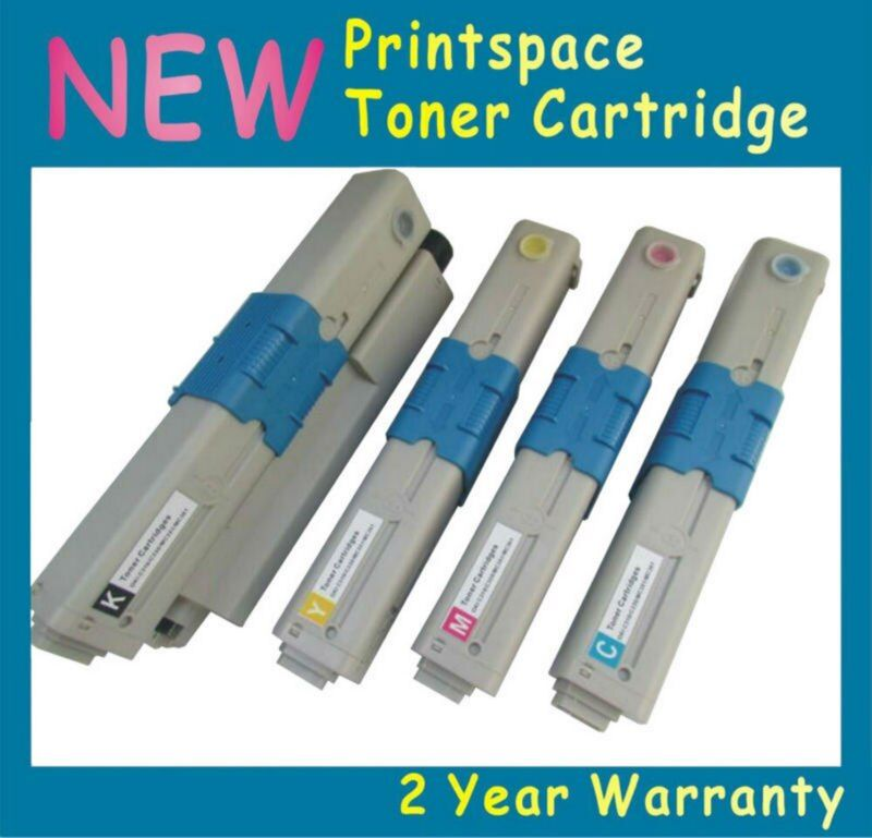 4x Toner Cartridges for OKI MC363 MC363dn C332 C332dn Printer 46508712/11/10/09 46508716/15/14/13 Compatible KCMY