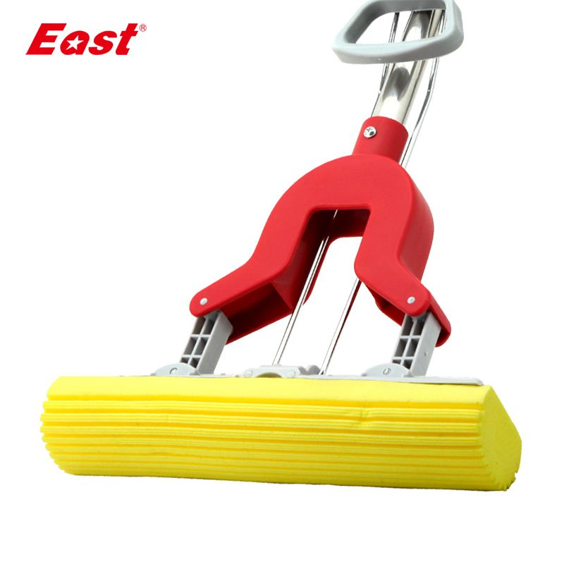 East PVA Collodion Sponge Mop Floor Cleaning Mop Folding Absorbing Squeeze Water Glue Cotton Mop Mop Household Cleaning Tools