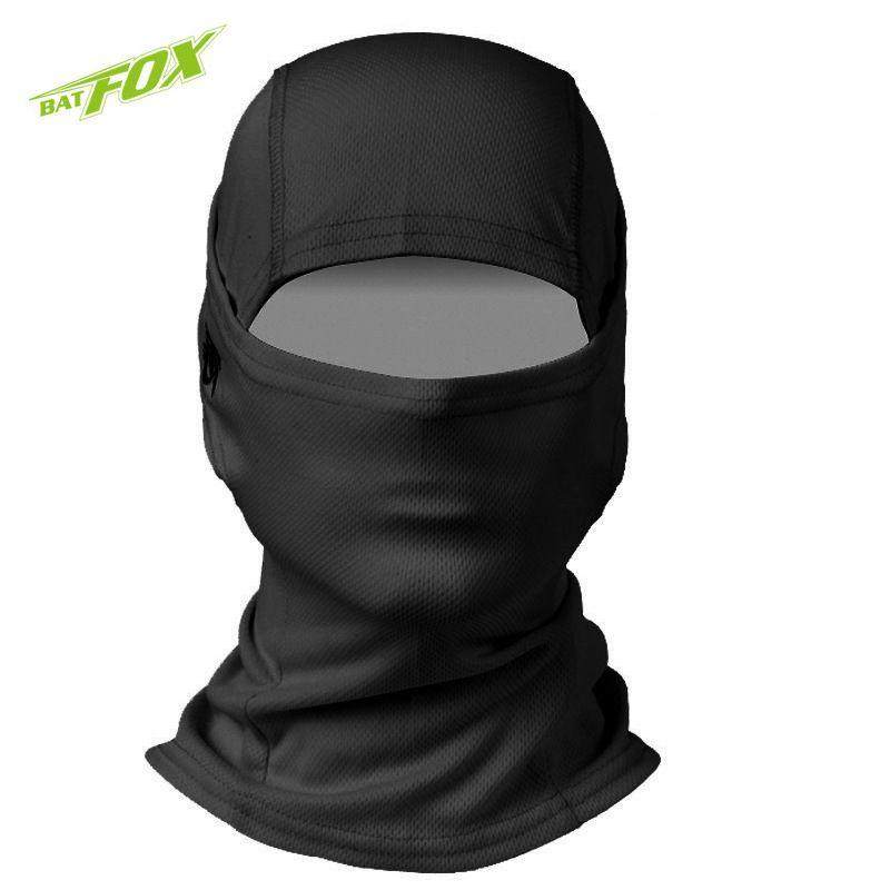 BATFOX Balaclava Windproof Half Face Mask Polyester Material Neck Gaiter Snowboard Mask CS Protect Mask Cycling Equipment