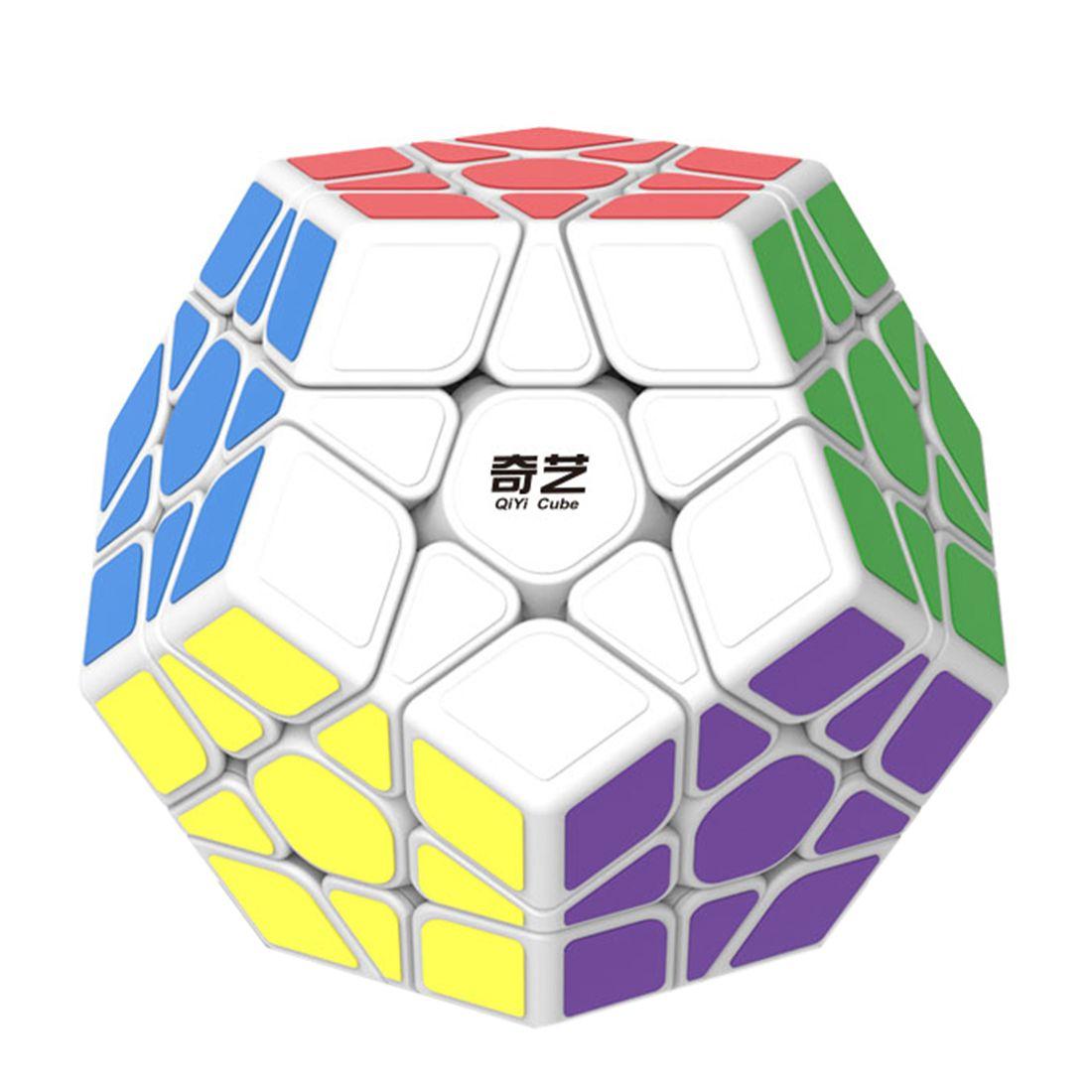 Qiyi QiHeng S Cubo Mágico MEGAMINX Cubos de Velocidad para Principiantes