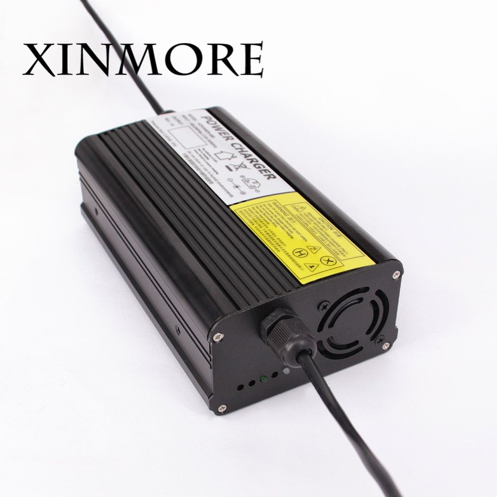 XINMORE 29V 10A 9A 8A Lead Acid Battery Charger For 24V Electric Bike Scooters E-bike with CE FCC ROHS SAA