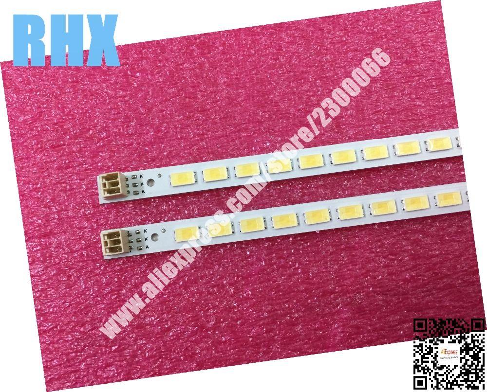 2 teile/los FÜR Samsung LCD TV LED-backlight artikellampe LJ64-03567A SCHLITTEN 2011SGS40 5630 60 H1 REV1.0 1 stück = 60LED 455 MM ist neue