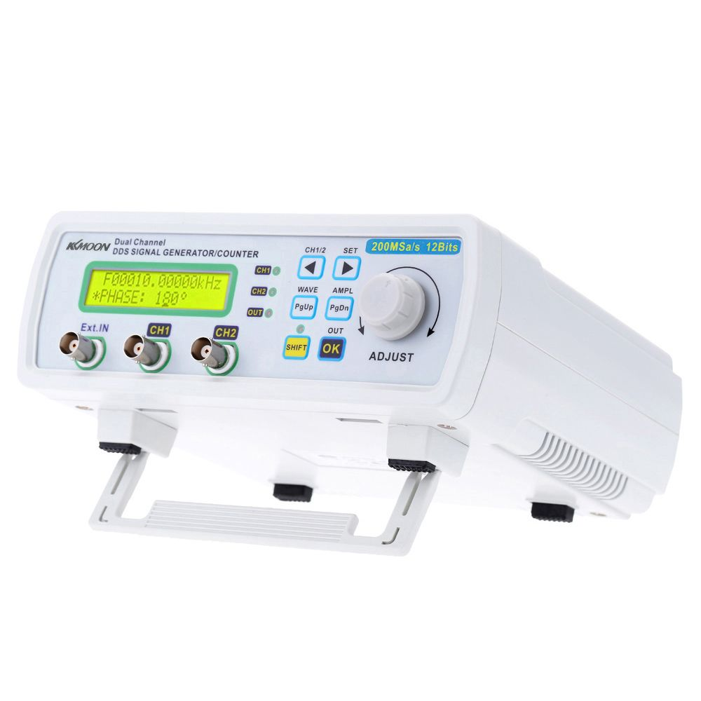 kkmoon signal generator Digital DDS function generator Signal Source Generator Arbitrary Waveform Frequency Meter 200MSa/s 25MHz