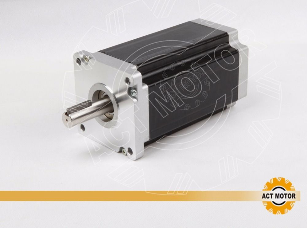 4-lead nema42 (110BYGH) Hybrid stepper motor 201mm/ 8A/ 4000oz (28n.m) cnc router
