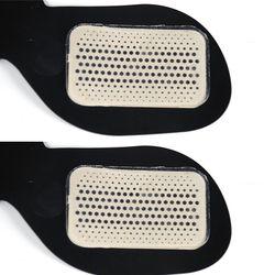 2 pcs (1 paire) coussinets De gel de Remplacement Formateur Musculaire Remplacement Masseur Gel Feuille Stimulateur Musculaire Exerciseur Pad Accessoires