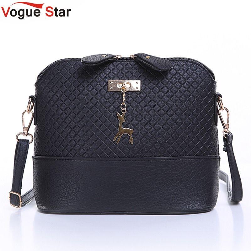 Vogue Star HOT SALE! 2017 Women Messenger Bags Fashion Mini Bag With Deer Toy Shell Shape Bag Women Shoulder Bags  LS571